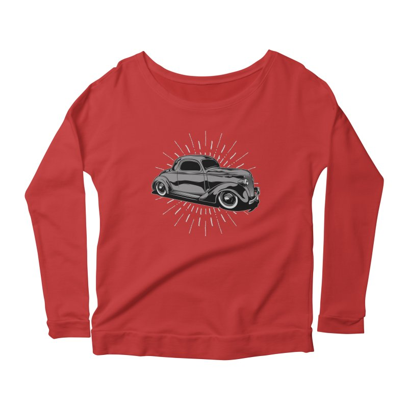 38 Ford Women's Scoop Neck Longsleeve T-Shirt by EngineHouse13's Artist Shop