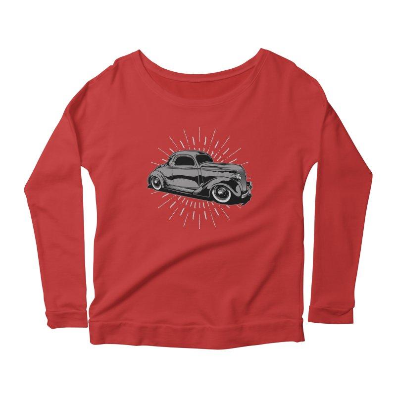 38 Ford Women's Longsleeve Scoopneck  by EngineHouse13's Artist Shop