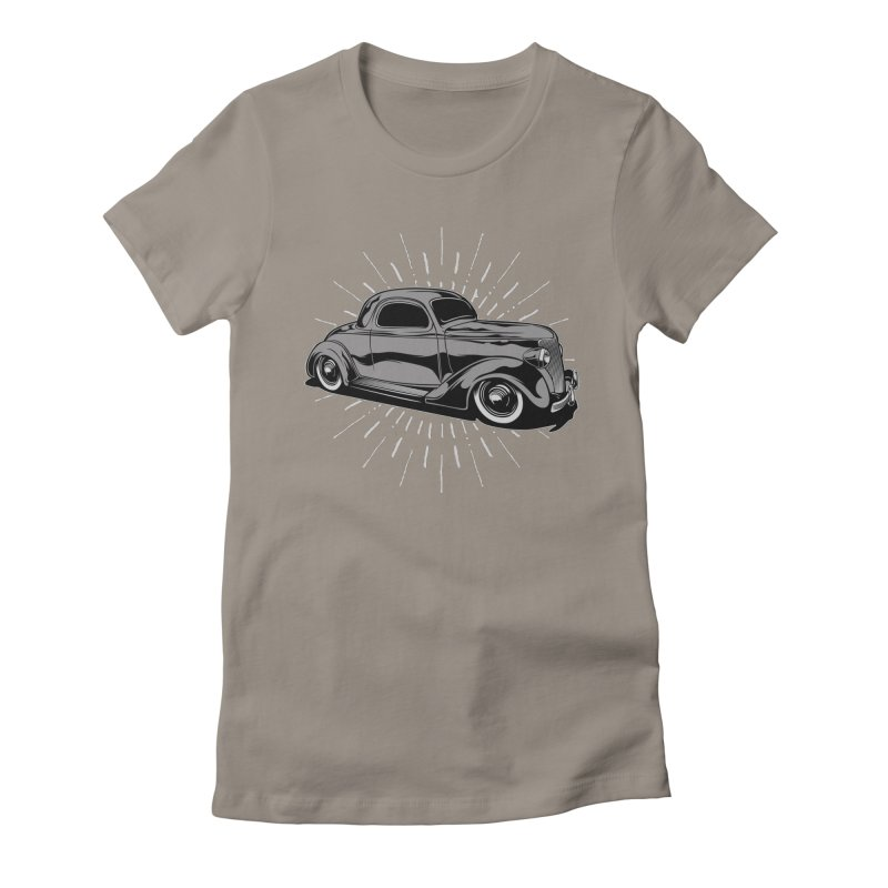 38 Ford Women's Fitted T-Shirt by EngineHouse13's Artist Shop