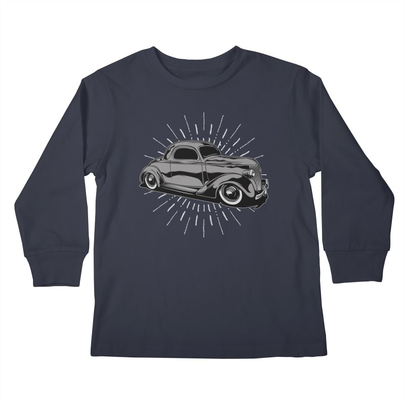 38 Ford Kids Longsleeve T-Shirt by EngineHouse13's Artist Shop