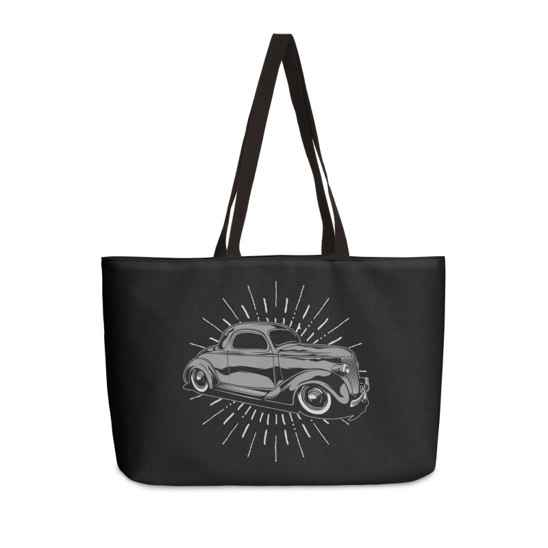 38 Ford Accessories Weekender Bag Bag by EngineHouse13's Artist Shop