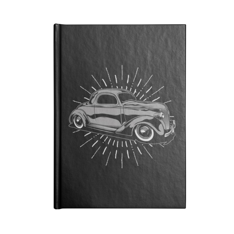 38 Ford Accessories Blank Journal Notebook by EngineHouse13's Artist Shop