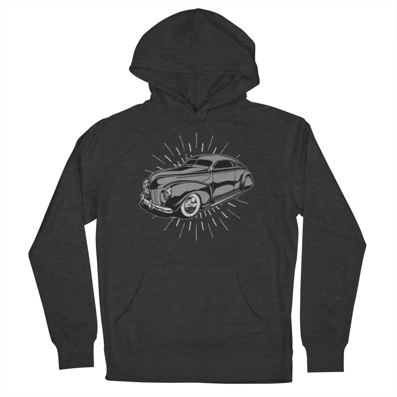 40 Sled Women's French Terry Pullover Hoody by EngineHouse13's Artist Shop