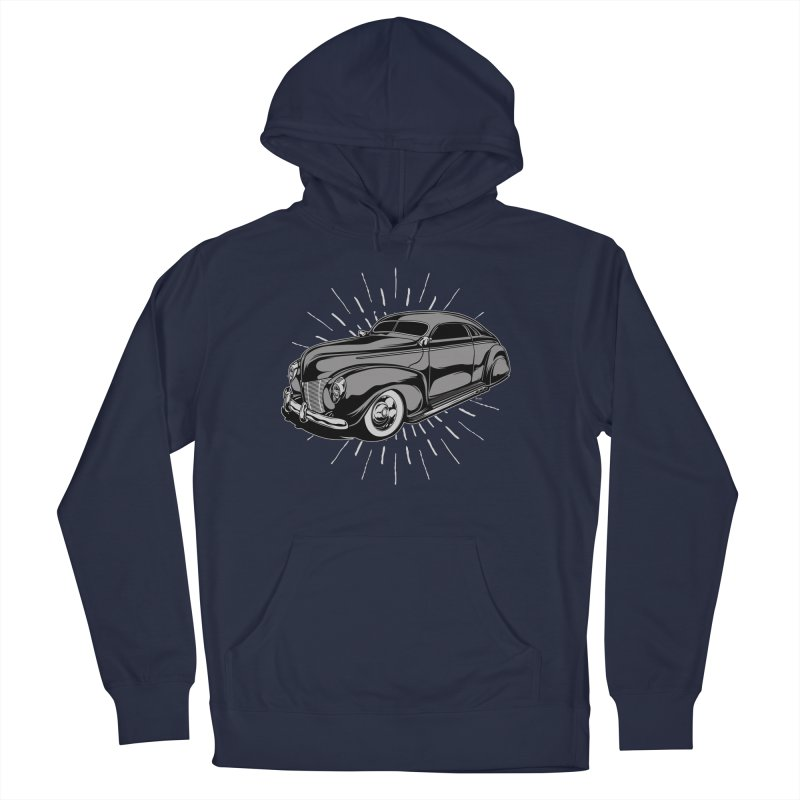 40 Sled Men's French Terry Pullover Hoody by EngineHouse13's Artist Shop