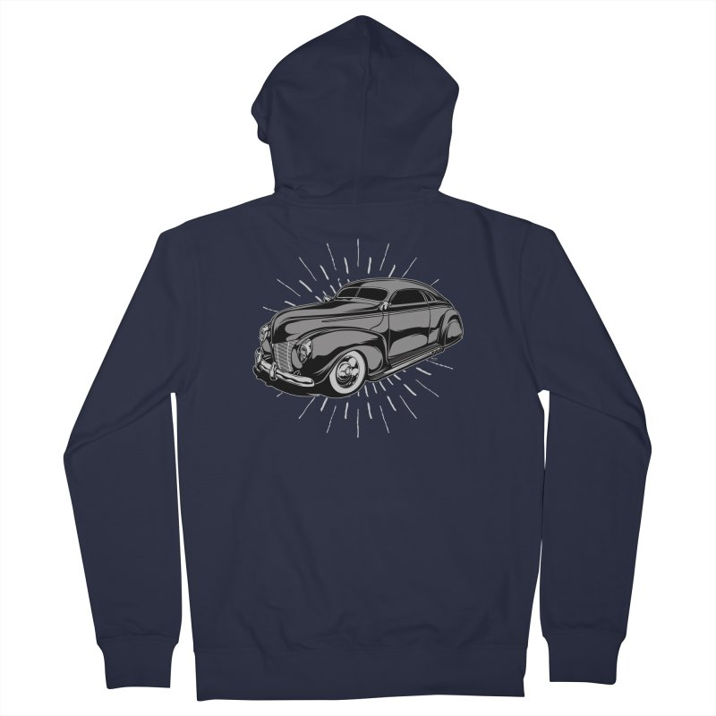 40 Sled Women's French Terry Zip-Up Hoody by EngineHouse13's Artist Shop