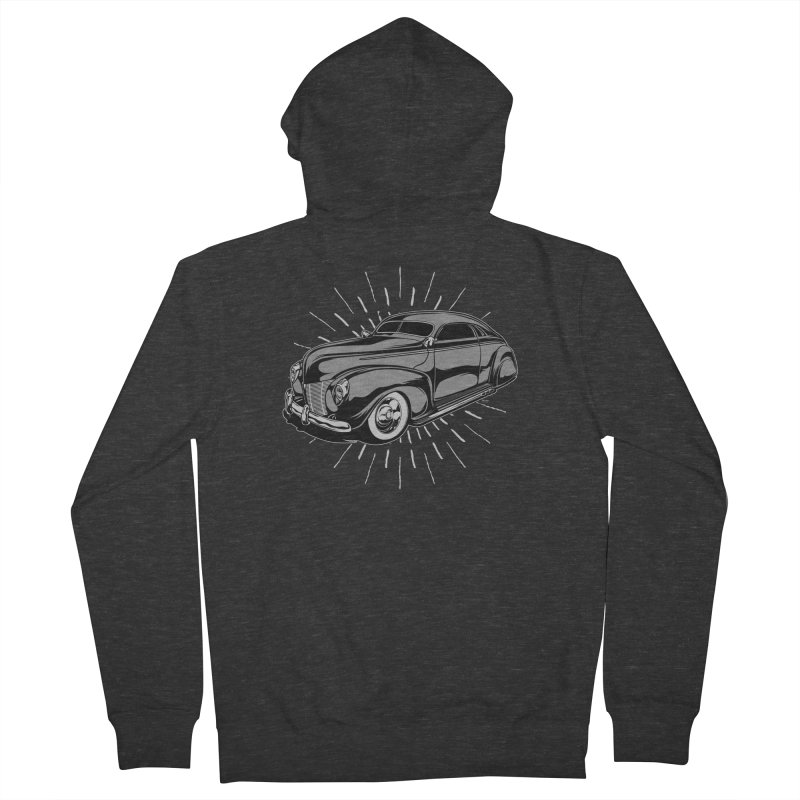 40 Sled Men's French Terry Zip-Up Hoody by EngineHouse13's Artist Shop