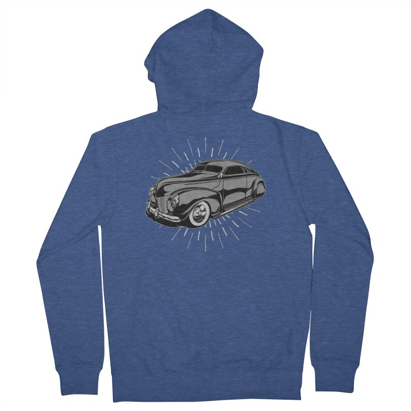 40 Sled Men's Zip-Up Hoody by EngineHouse13's Artist Shop