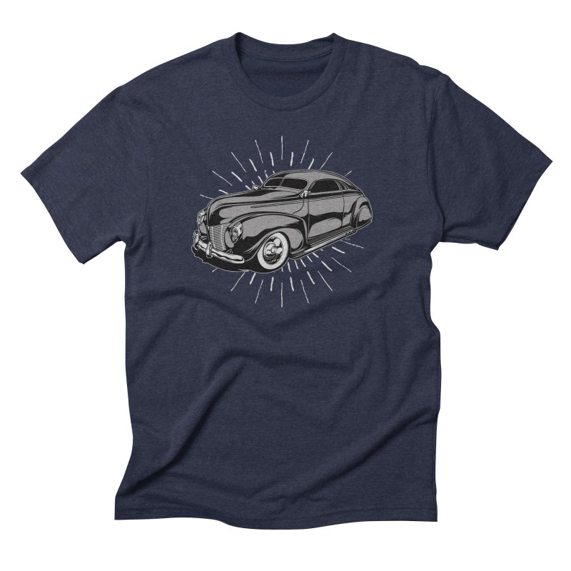 40 Sled Men's Triblend T-Shirt by EngineHouse13's Artist Shop