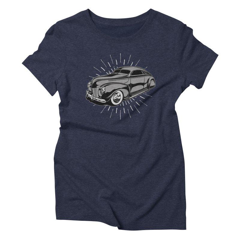 40 Sled Women's T-Shirt by EngineHouse13's Artist Shop
