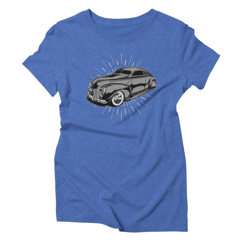 40 Sled Women's Triblend T-Shirt by EngineHouse13's Artist Shop