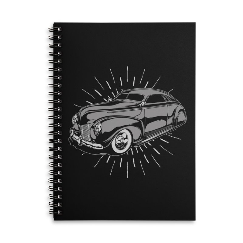 40 Sled Accessories Notebook by EngineHouse13's Artist Shop