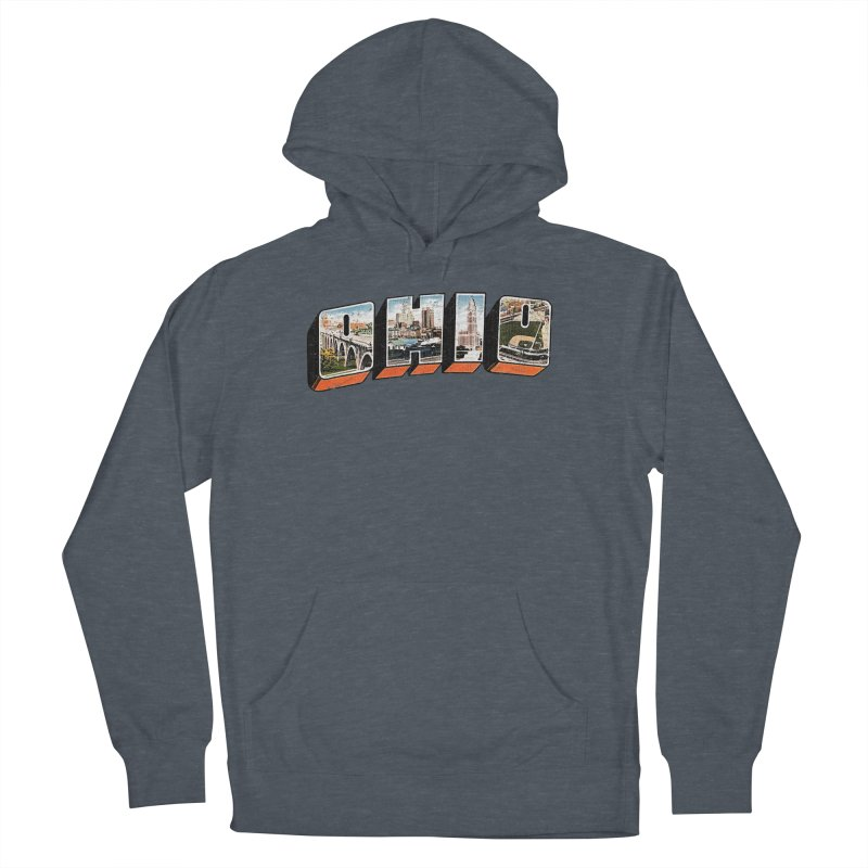 Greetings From Ohio Women's French Terry Pullover Hoody by EngineHouse13's Artist Shop