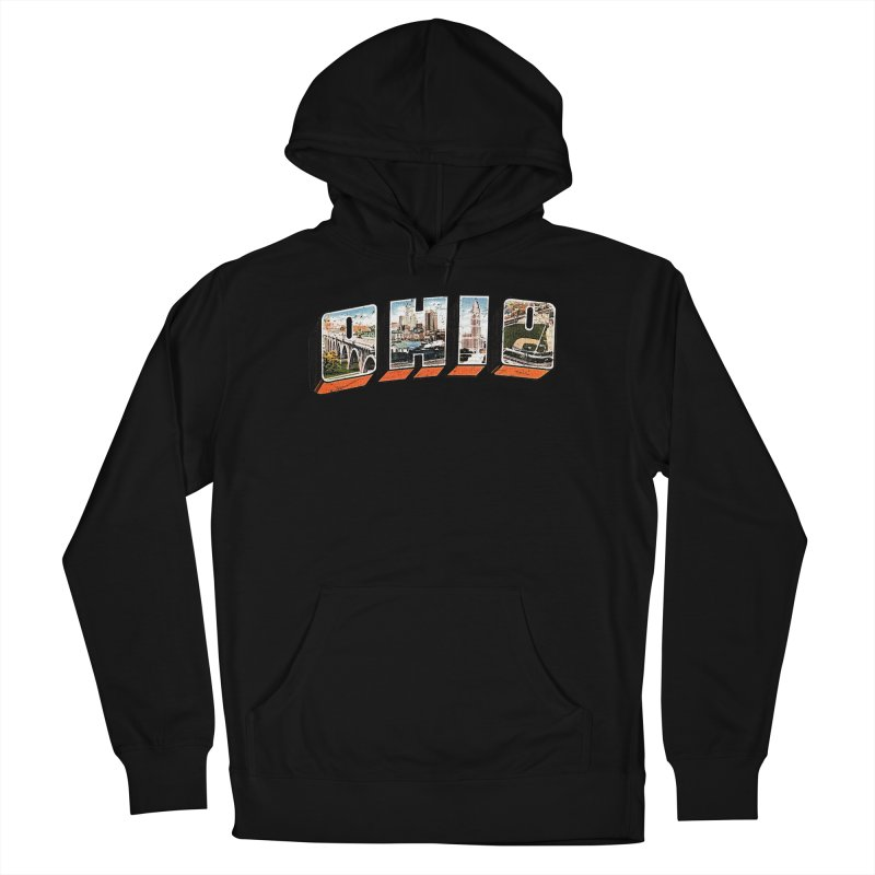 Greetings From Ohio Men's Pullover Hoody by EngineHouse13's Artist Shop