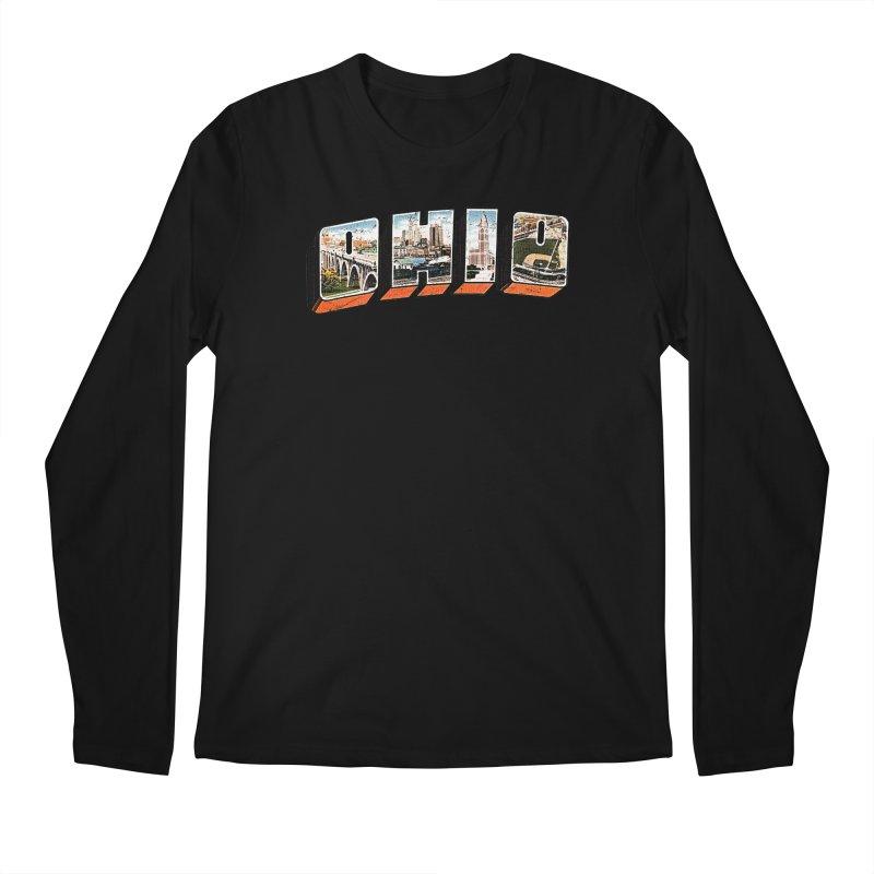 Greetings From Ohio Men's Regular Longsleeve T-Shirt by EngineHouse13's Artist Shop