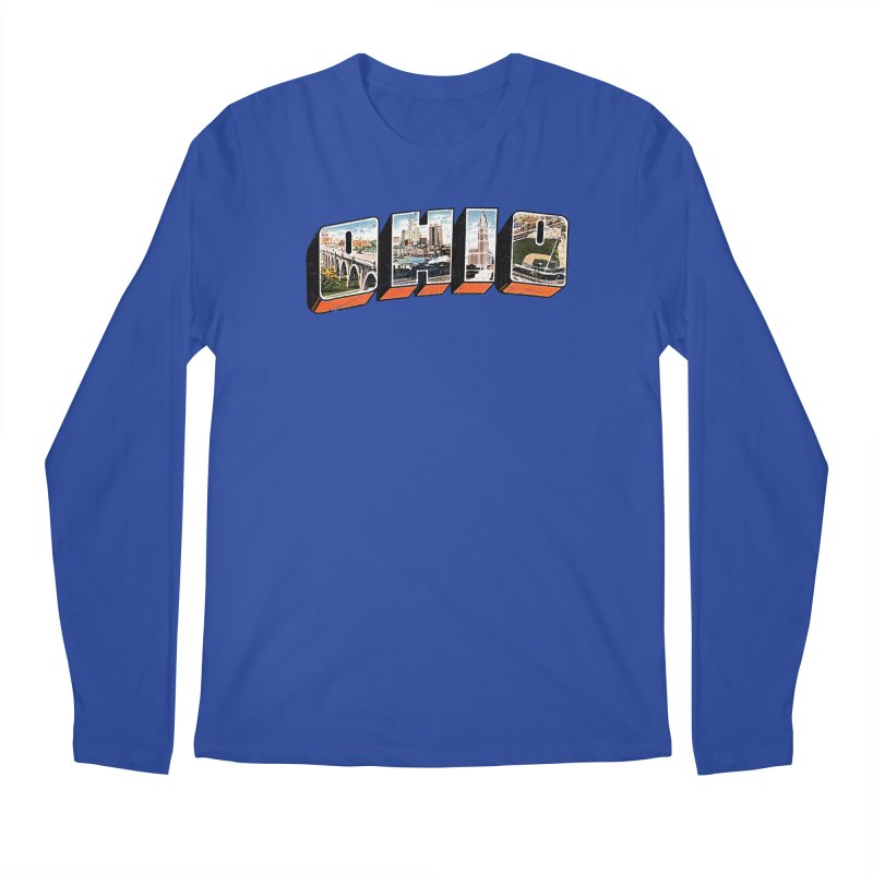 Greetings From Ohio Men's Longsleeve T-Shirt by EngineHouse13's Artist Shop