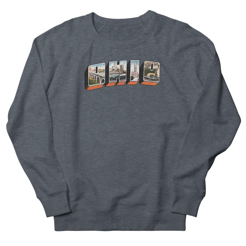 Greetings From Ohio Men's Sweatshirt by EngineHouse13's Artist Shop