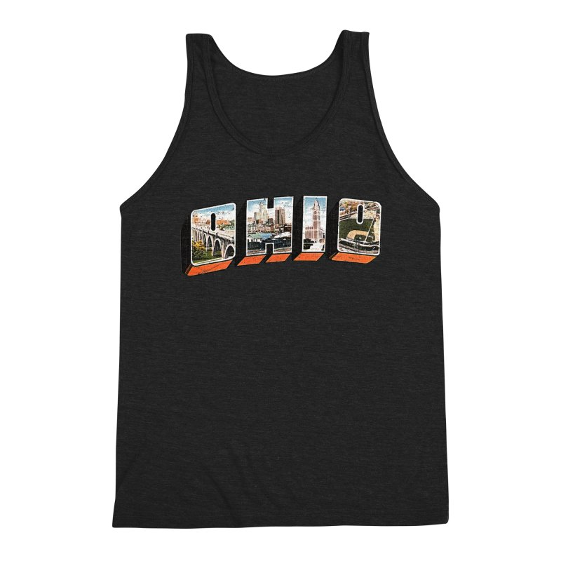 Greetings From Ohio Men's Tank by EngineHouse13's Artist Shop