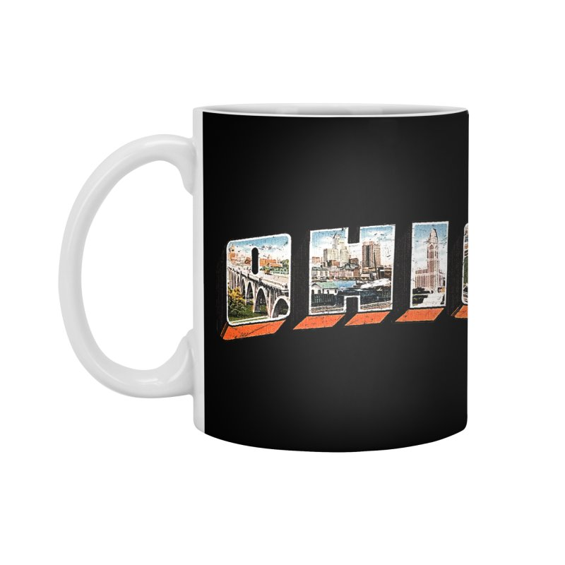 Greetings From Ohio Accessories Mug by EngineHouse13's Artist Shop