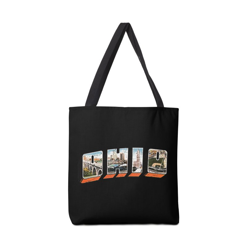 Greetings From Ohio Accessories Tote Bag Bag by EngineHouse13's Artist Shop