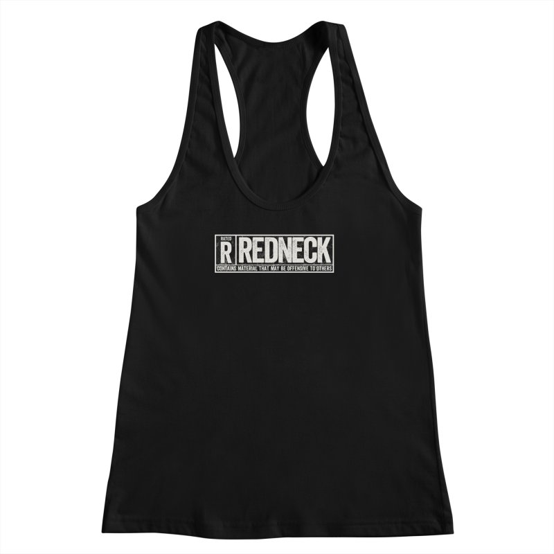 Rated R Women's Racerback Tank by EngineHouse13's Artist Shop
