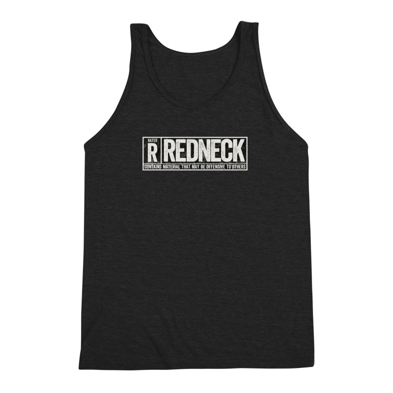 Rated R Men's Triblend Tank by EngineHouse13's Artist Shop