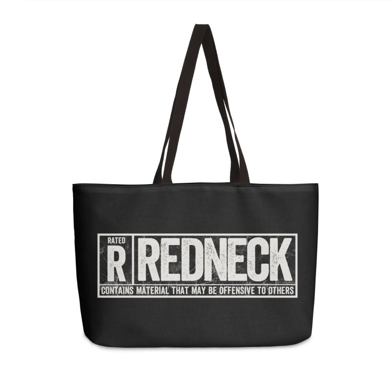 Rated R Accessories Weekender Bag Bag by EngineHouse13's Artist Shop