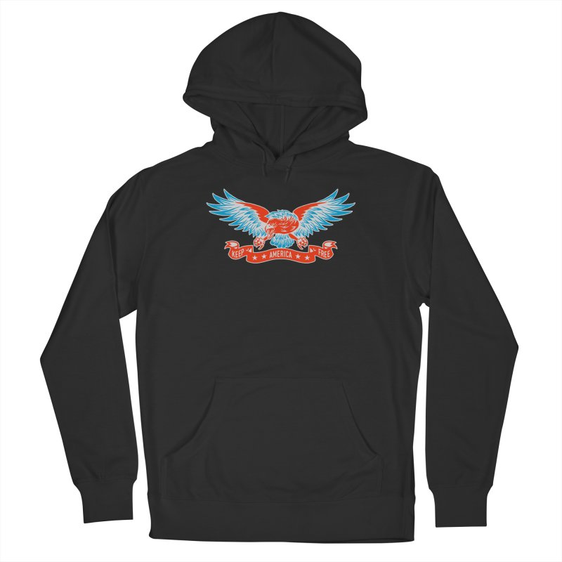 Keep America Free Men's Pullover Hoody by EngineHouse13's Artist Shop