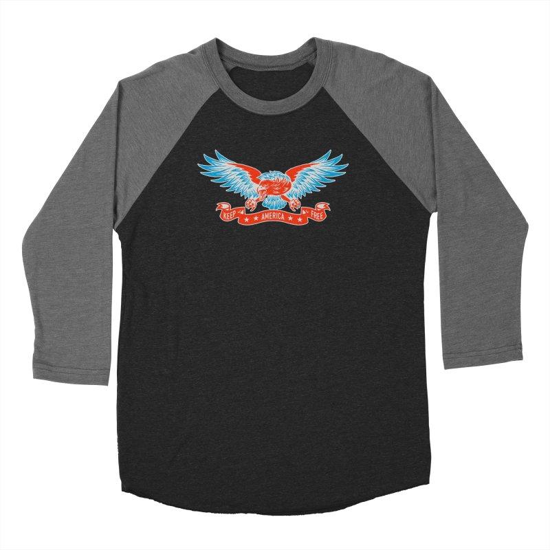 Keep America Free Women's Longsleeve T-Shirt by EngineHouse13's Artist Shop