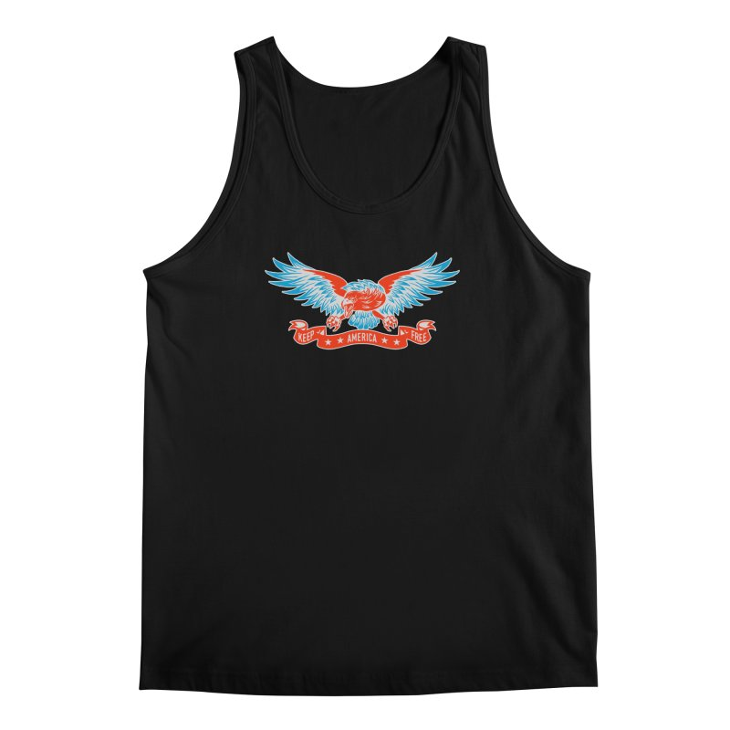 Keep America Free Men's Tank by EngineHouse13's Artist Shop