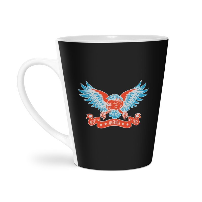 Keep America Free Accessories Latte Mug by EngineHouse13's Artist Shop
