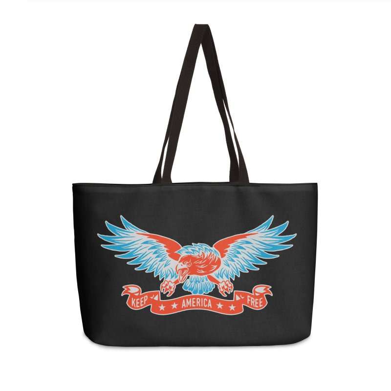 Keep America Free Accessories Weekender Bag Bag by EngineHouse13's Artist Shop
