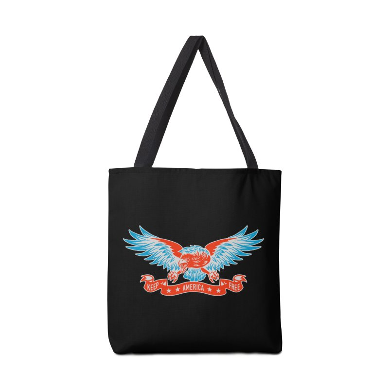 Keep America Free Accessories Tote Bag Bag by EngineHouse13's Artist Shop