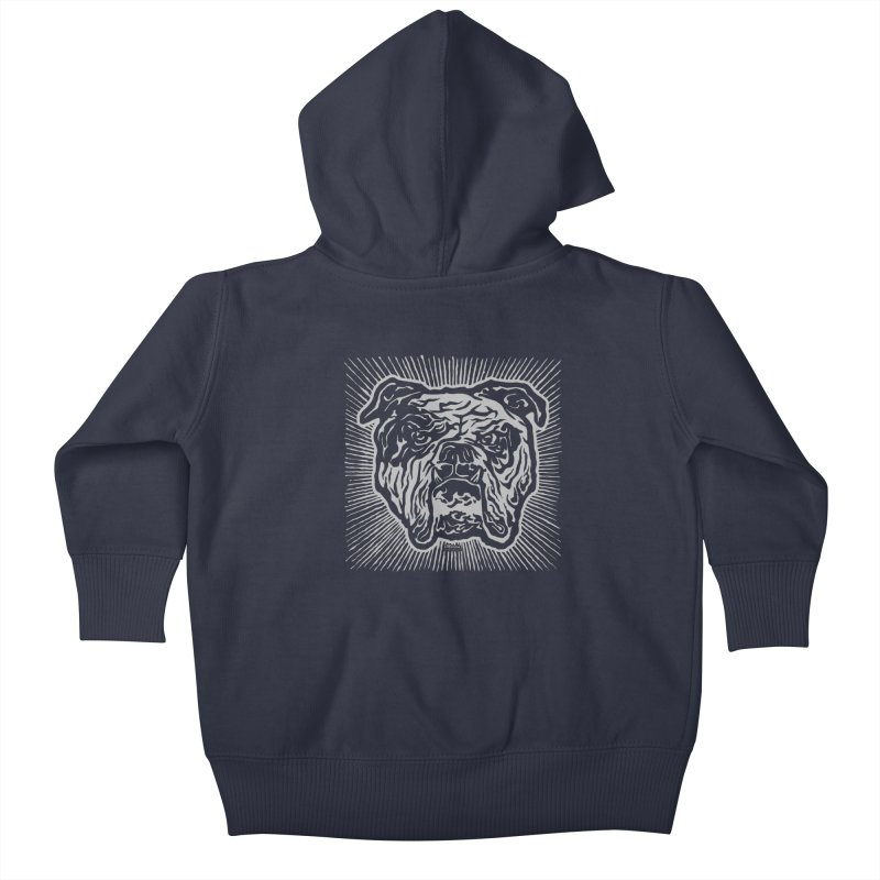 Bully Kids Baby Zip-Up Hoody by EngineHouse13's Artist Shop