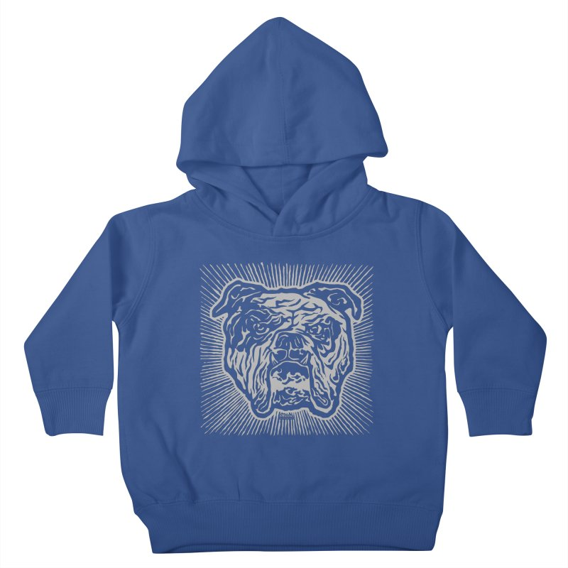 Bully Kids Toddler Pullover Hoody by EngineHouse13's Artist Shop