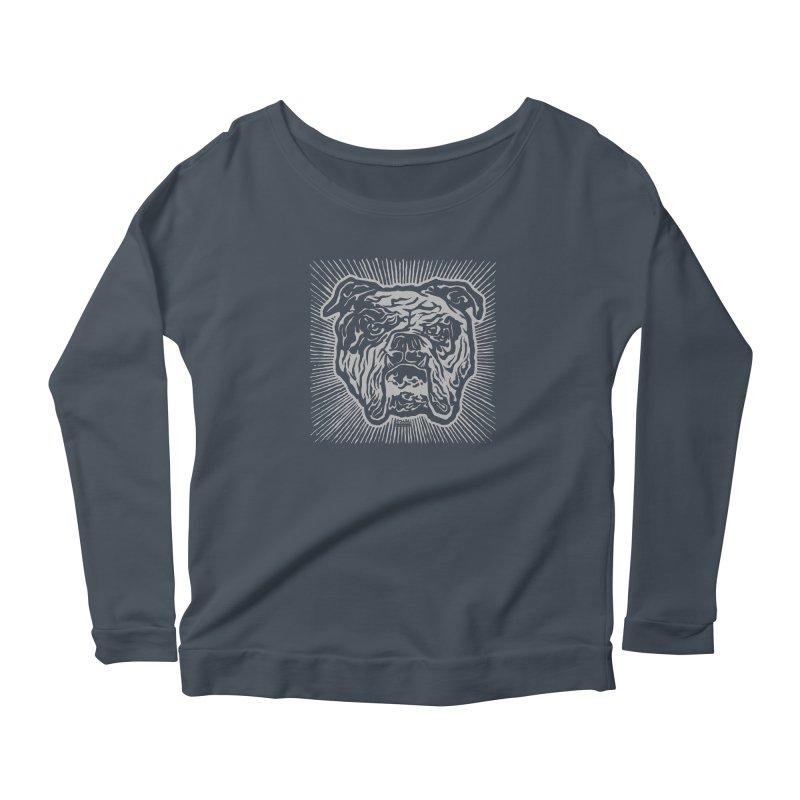 Bully Women's Scoop Neck Longsleeve T-Shirt by EngineHouse13's Artist Shop