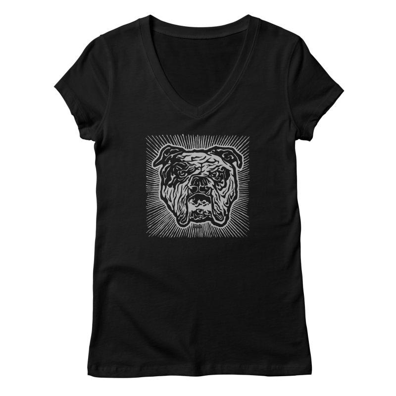 Bully Women's Regular V-Neck by EngineHouse13's Artist Shop