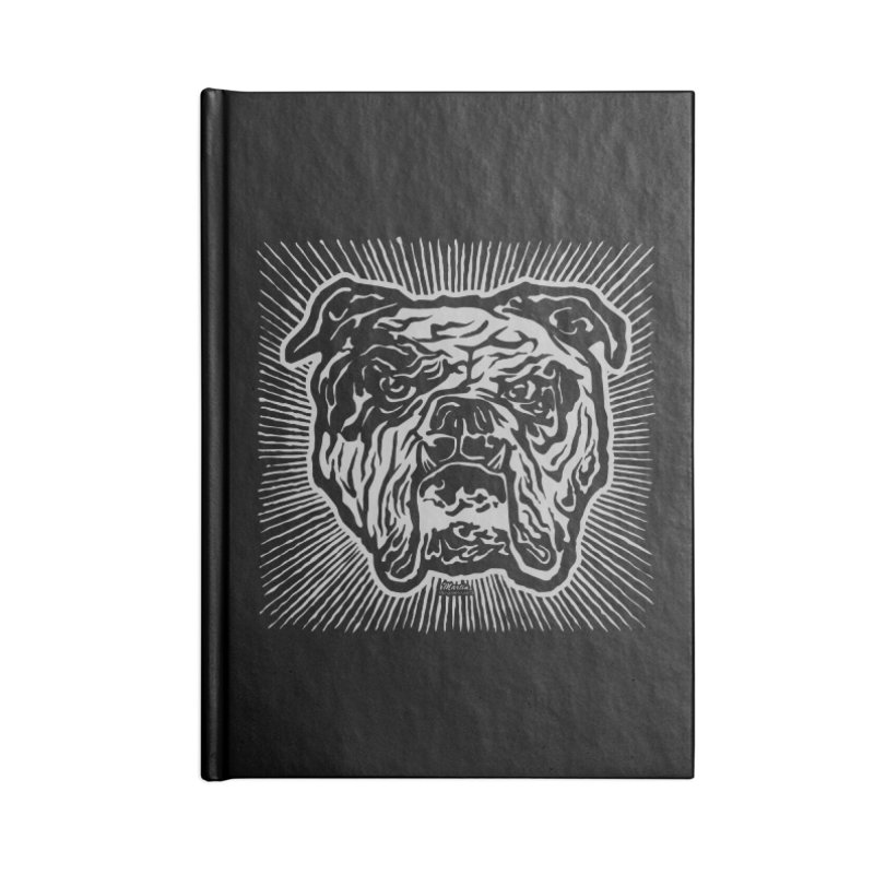 Bully Accessories Lined Journal Notebook by EngineHouse13's Artist Shop