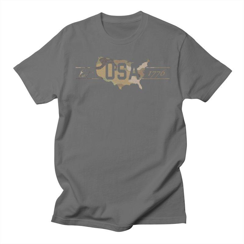 Est. 1776 Men's T-Shirt by EngineHouse13's Artist Shop