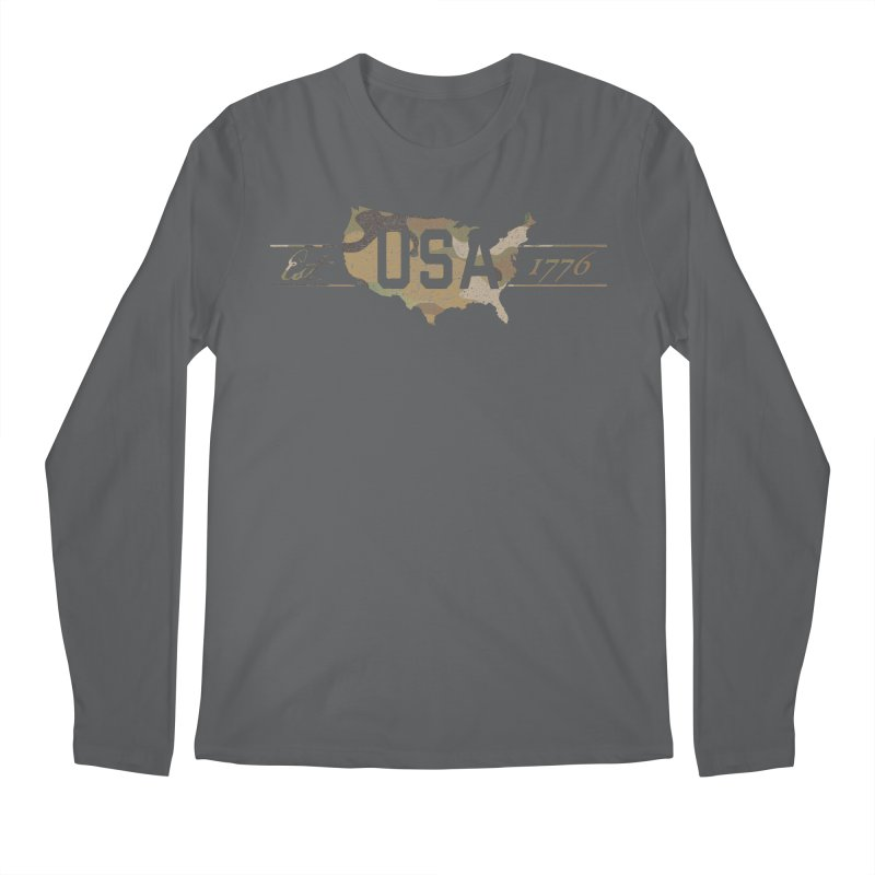 Est. 1776 Men's Regular Longsleeve T-Shirt by EngineHouse13's Artist Shop