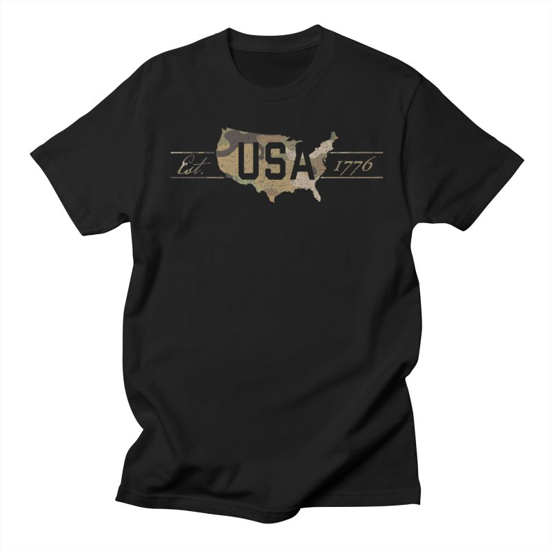 Est. 1776 Women's Regular Unisex T-Shirt by EngineHouse13's Artist Shop