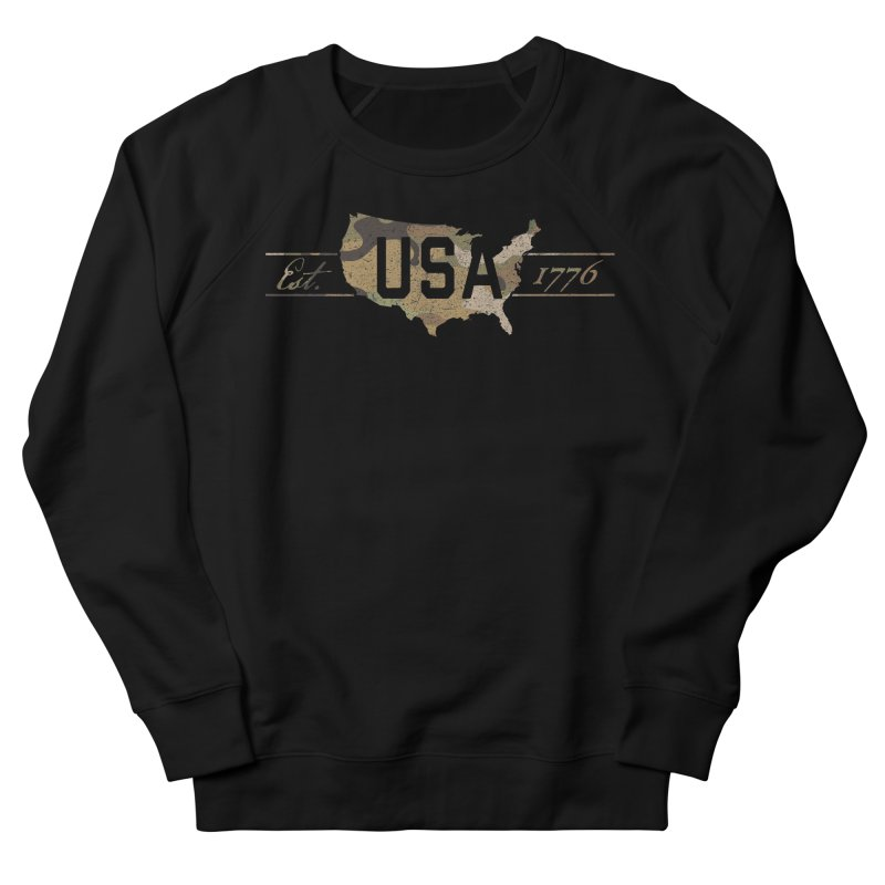 Est. 1776 Men's French Terry Sweatshirt by EngineHouse13's Artist Shop