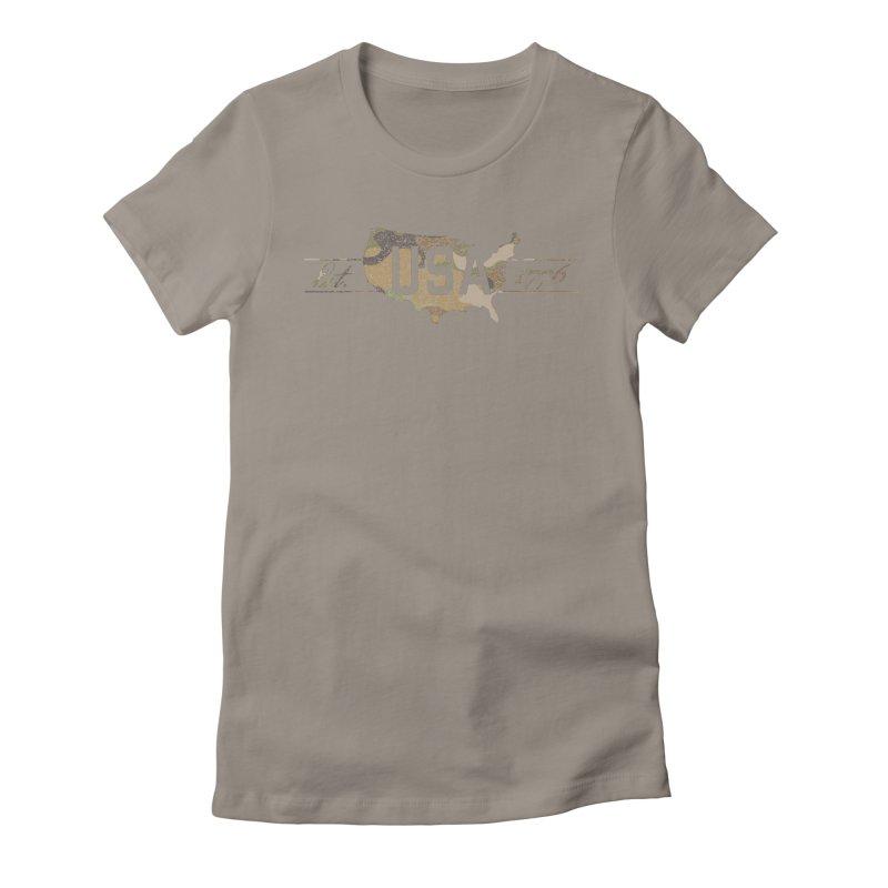 Est. 1776 Women's T-Shirt by EngineHouse13's Artist Shop