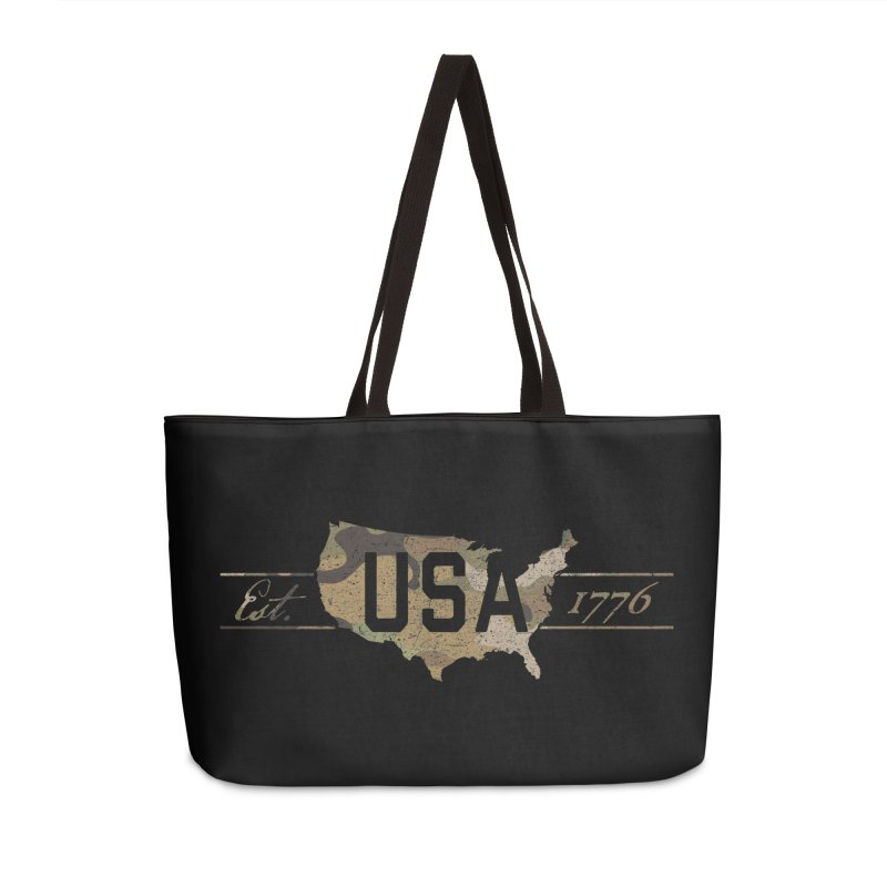 Est. 1776 Accessories Bag by EngineHouse13's Artist Shop