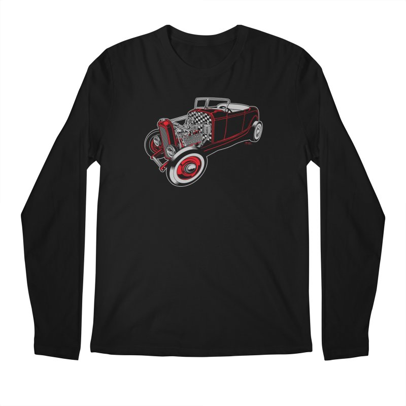 32 Men's Regular Longsleeve T-Shirt by EngineHouse13's Artist Shop