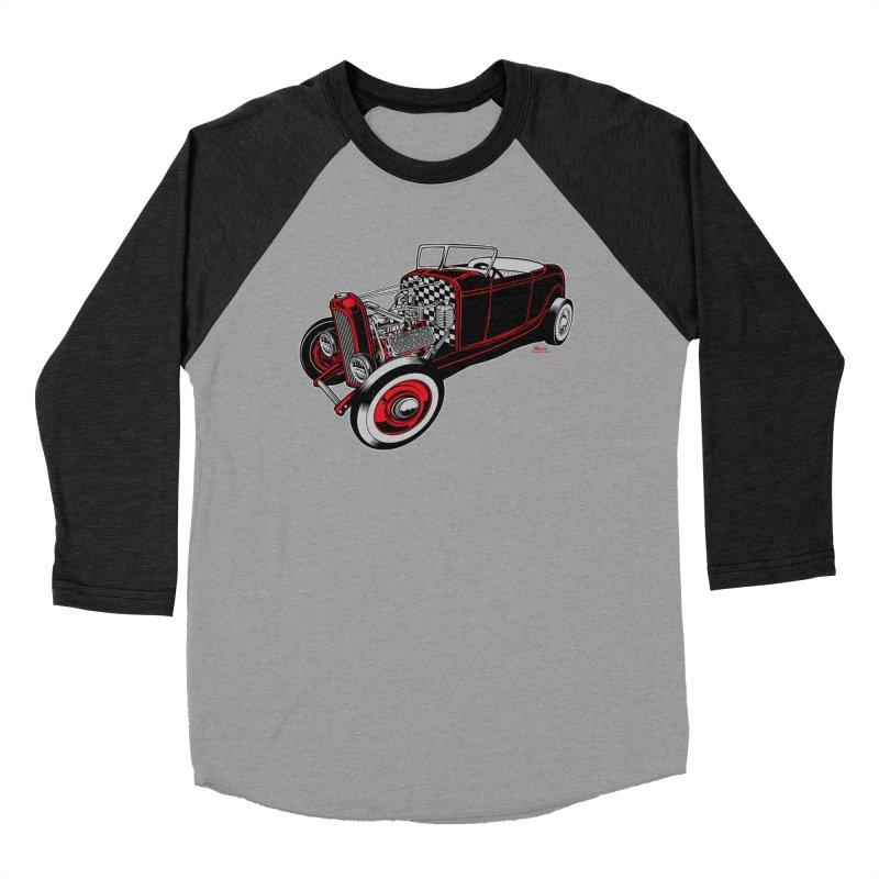 32 Women's Baseball Triblend Longsleeve T-Shirt by EngineHouse13's Artist Shop