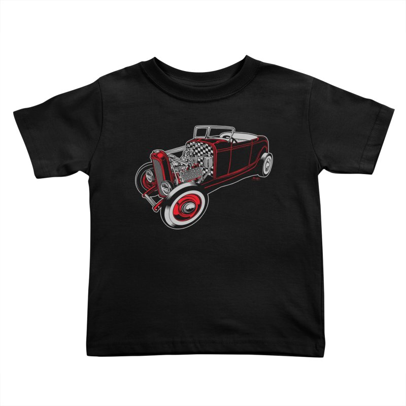 32 Kids Toddler T-Shirt by EngineHouse13's Artist Shop
