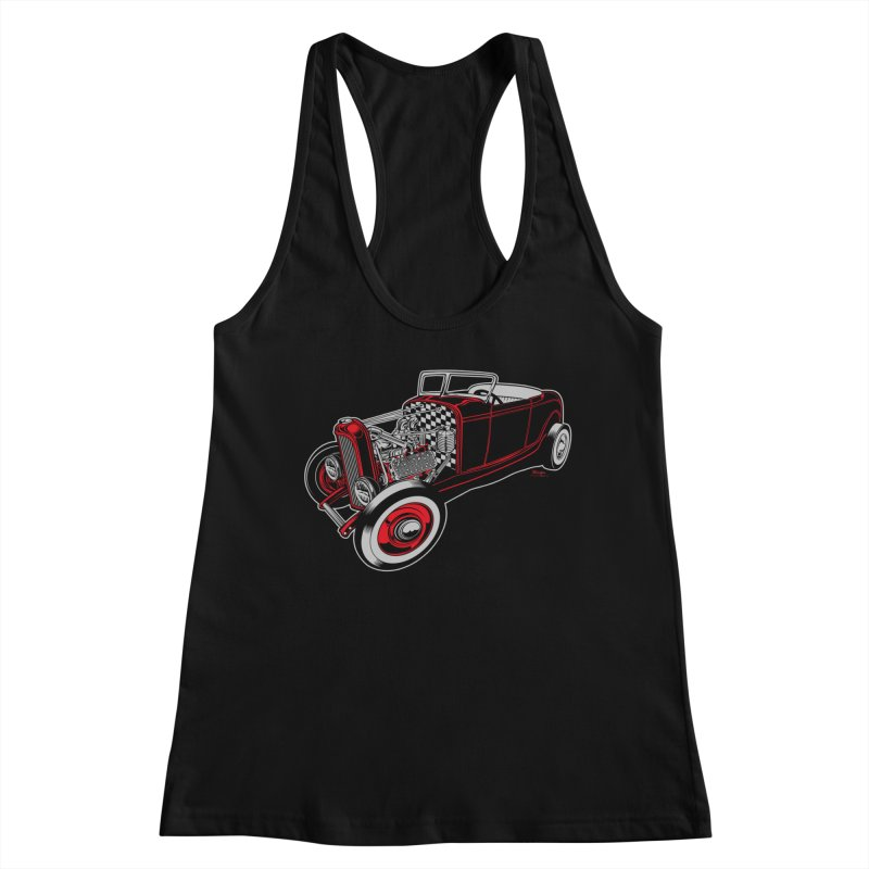 32 Women's Tank by EngineHouse13's Artist Shop