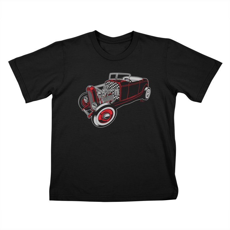 32 Kids T-Shirt by EngineHouse13's Artist Shop