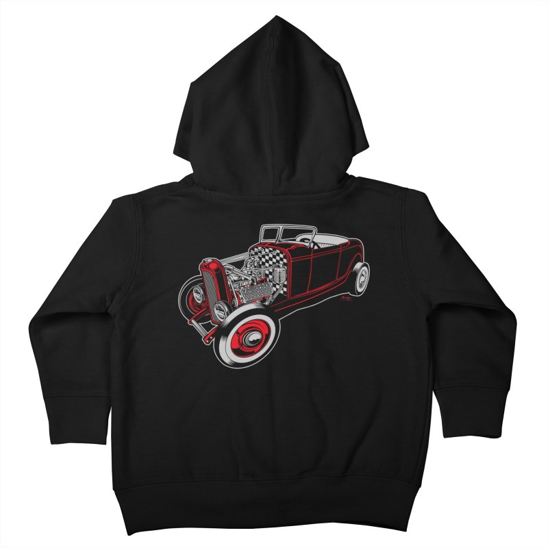 32 Kids Toddler Zip-Up Hoody by EngineHouse13's Artist Shop