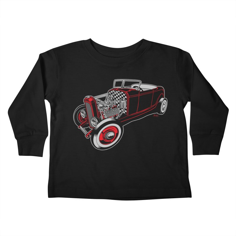 32 Kids Toddler Longsleeve T-Shirt by EngineHouse13's Artist Shop